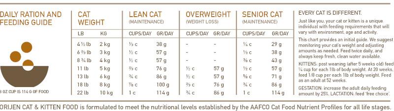 ORIJEN Cat & Kitten food