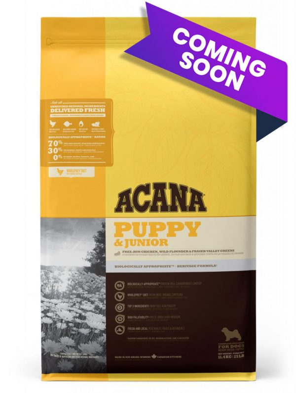 ACANA Puppy and Junior food