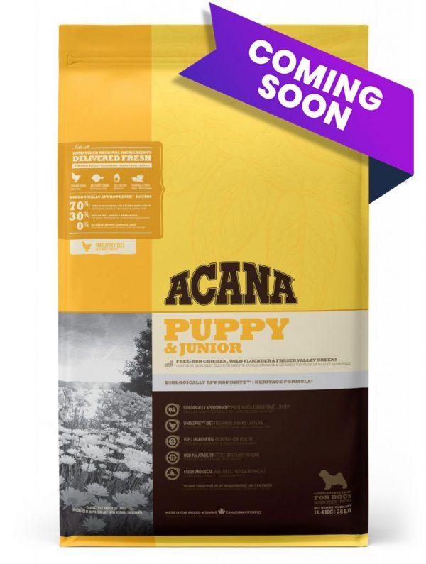 ACANA Puppy and Junior food