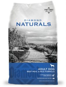 Diamond Beef dog food