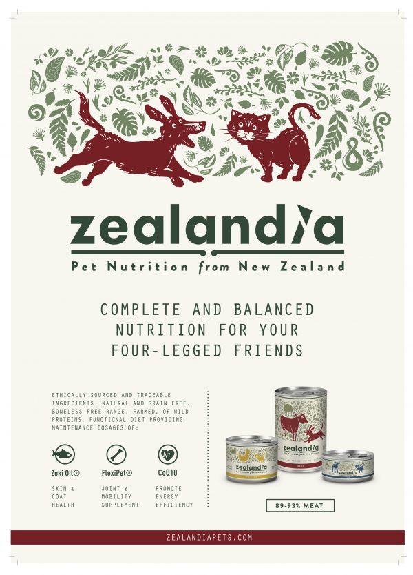 Zealandia Grain Free dog cat puppy kitten food