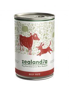 Zealandia Beef Pate Dog formula