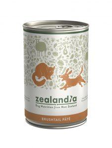 Zealandia Brushtail Pate Dog formula
